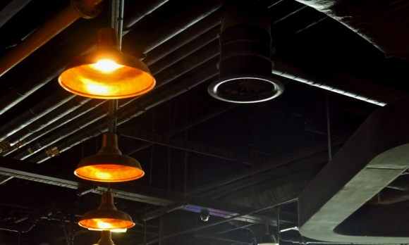 Grain Loft ceiling, 13/5/18