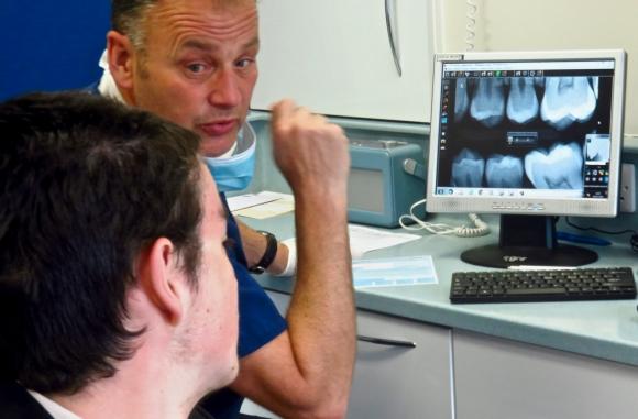 Joe teeth X-ray, 9/5/18