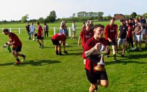 Poulton FC celebrations, 19/5/18