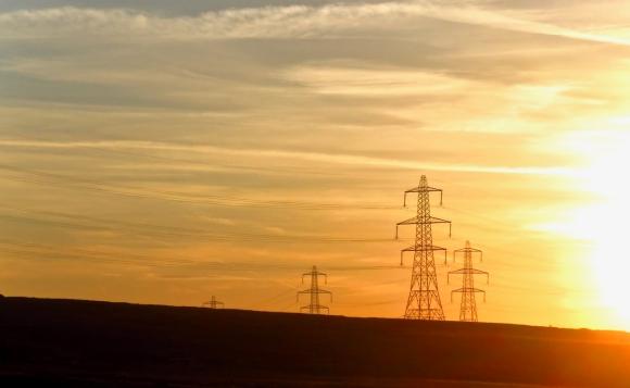 Pylon sunset, 24/5/18