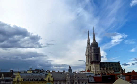 Zagreb cathedral, 15/5/18
