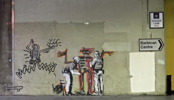 Barbican Banksy, 19/6/18