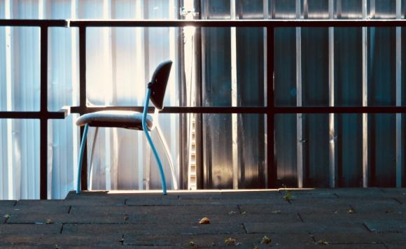 Courtyard chair, 4/7/18