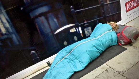 Homeless on Cross Street, 18/7/18