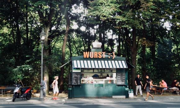 Wurst stand, 22/8/18