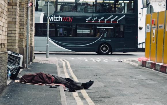 Homeless, Abingdon St., 3/9/18