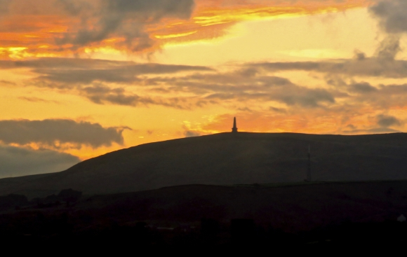 Stoodley Pike sunrise, 13/9/18