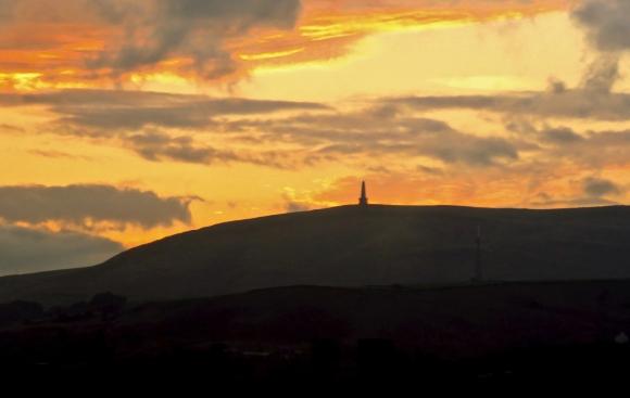 Stoodley Pike sunrise, 13/9/18