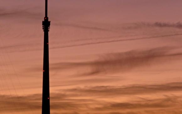 Emley Moor mast, 17/10/18