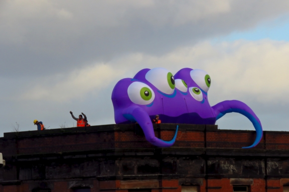Purple alien, 22/10/18