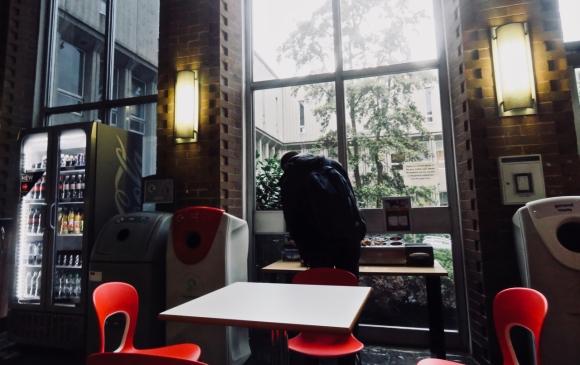 Bridgeford St. cafe, 9/11/18