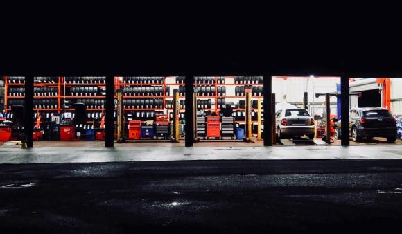 Burnley garage, 8/11/18