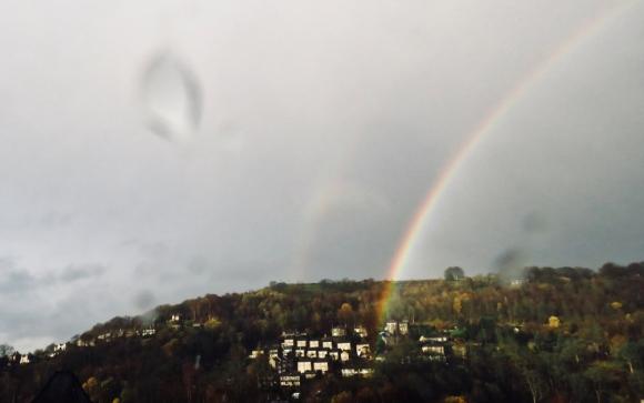 Double rainbow, 20/11/18
