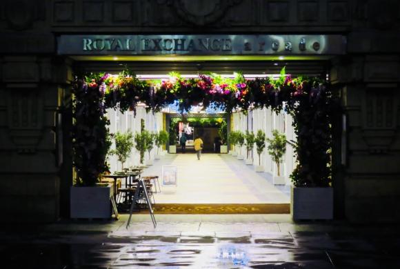 Royal Exchange arcade, 21/11/18