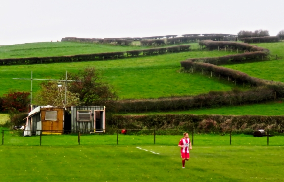 Slyne with Hest FC, 3/11/18