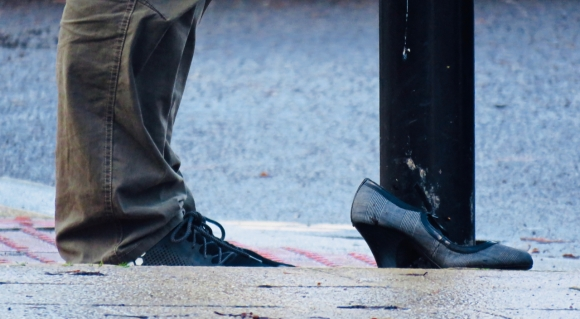 Abandoned shoe, 8/12/18