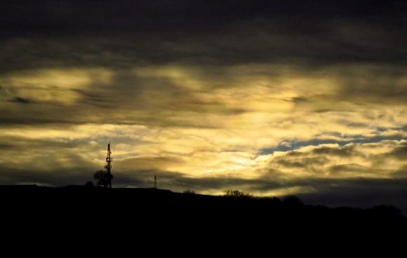 December sky, 10/12/18