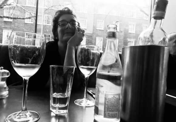 Clare at Carluccios, 25/1/19