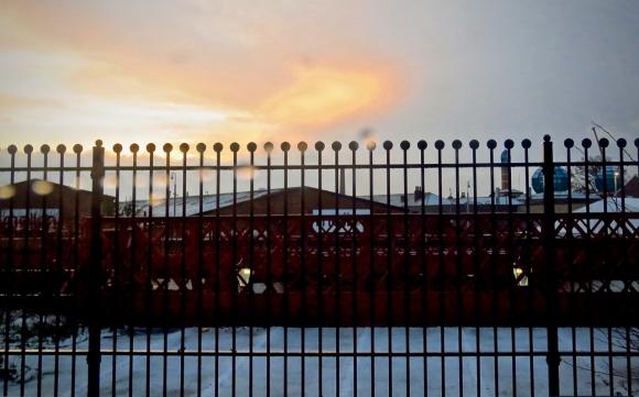 Rochdale station view, 22/1/19