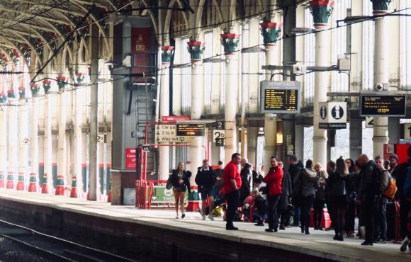Platform 2, Preston, 22/2/19