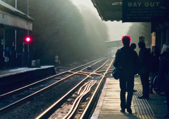 Red lights at HB station, 18/2/19