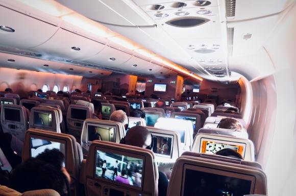 Flying to Dubai, 24/3/19