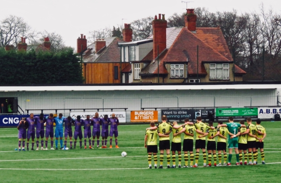 Minute's silence, 16/3/19
