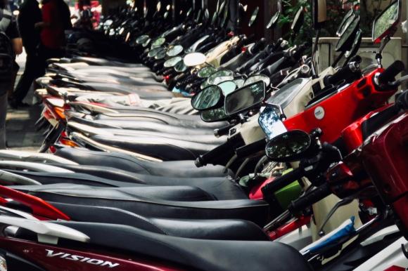 Saigon motorbikes, 31/3/19
