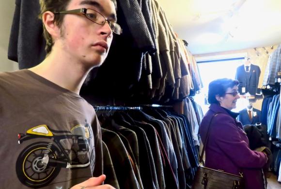 Suit buying, 3/3/19