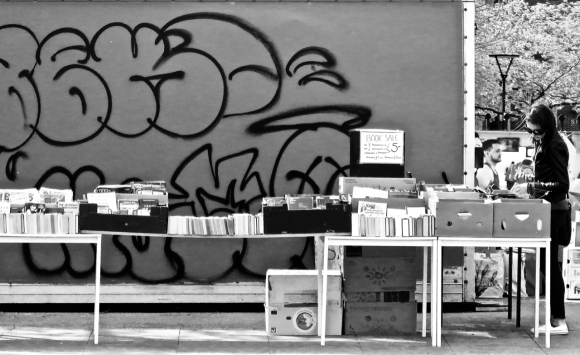 Bookstall, Oxford Road, 23/4/19