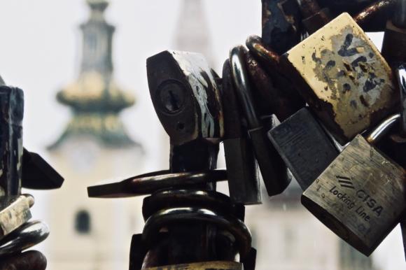 Zagreb padlocks, 6/5/19
