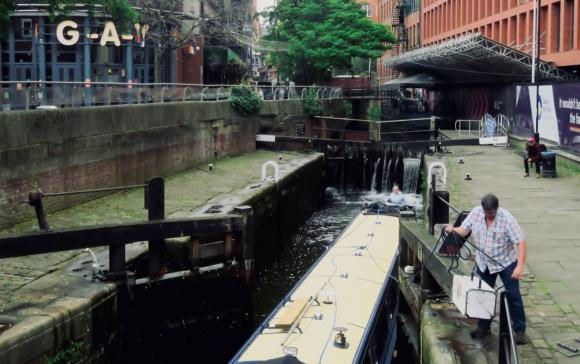 Canal Street lock, 24/6/19