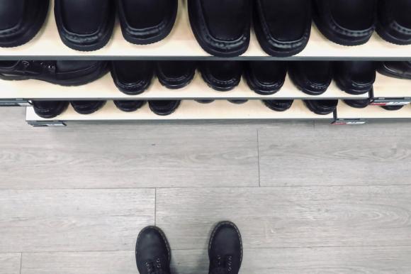 Shoe shop, 9/6/19