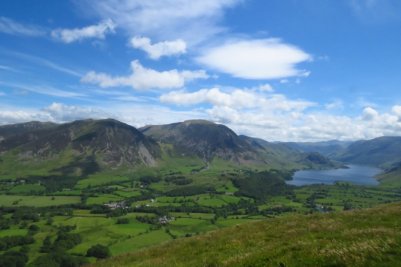 View from Low Fell, 18/6/19