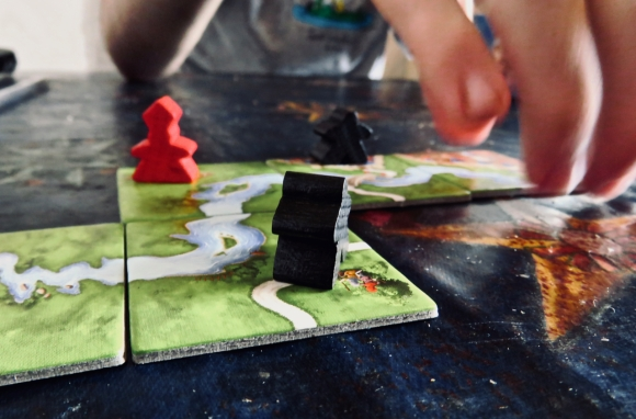 Playing Carcassonne, 22/9/19