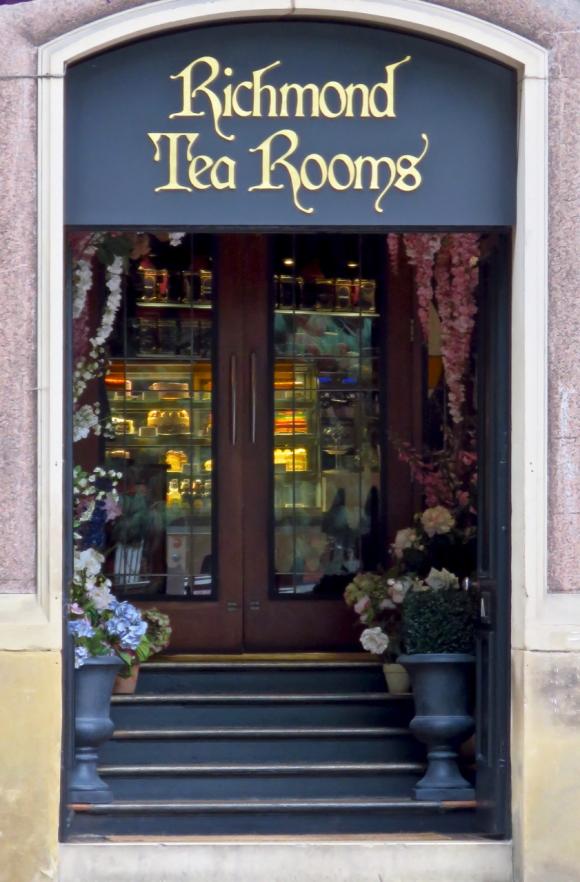 Richmond tea rooms, 18/9/19