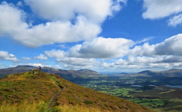 View from Grisedale Pike, 7/9/19