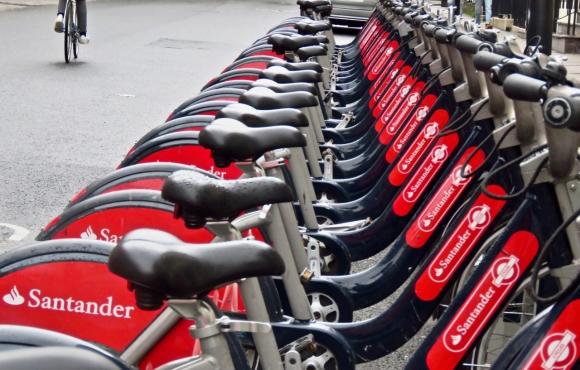 Bike rack, London, 14/10/19