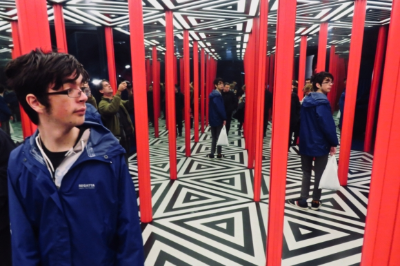 Hall of mirrors, 6/10/19