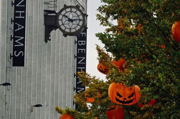 Pumpkin lanterns, 9/10/19