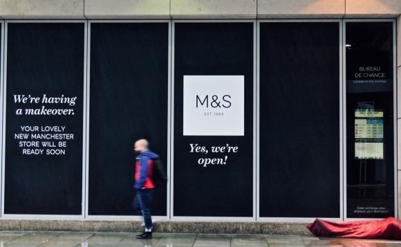 Sleeping outside M&S, 4/10/19