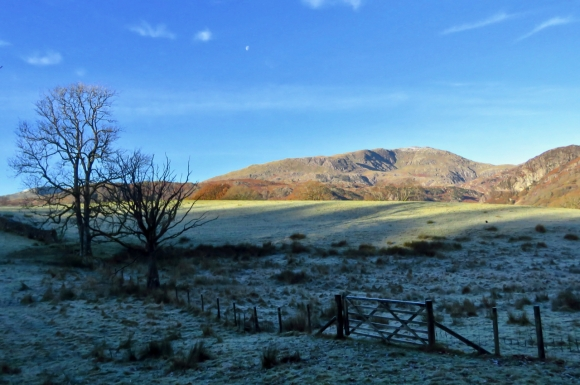 Frosty view to Wetherlam, 18/11/19