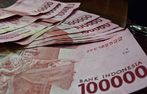Indonesian currency, 22/11/19
