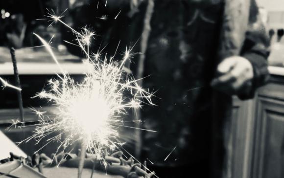 Official birthday sparkler, 17/11/19