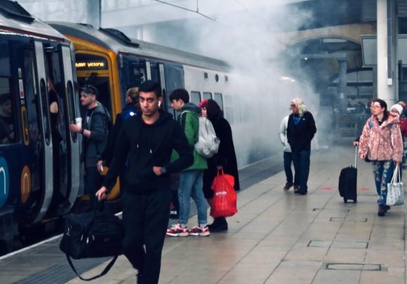 Smoky train, 26/1/20