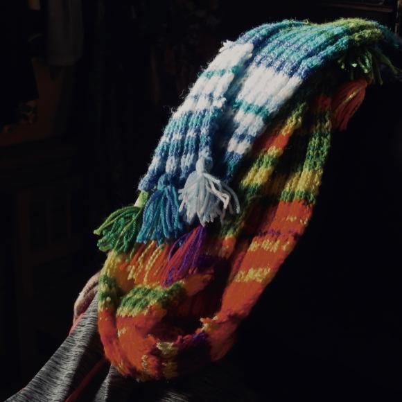 Temperature record scarf, 2/1/20