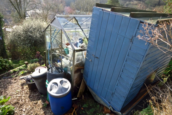 Capsized shed, 13/2/20