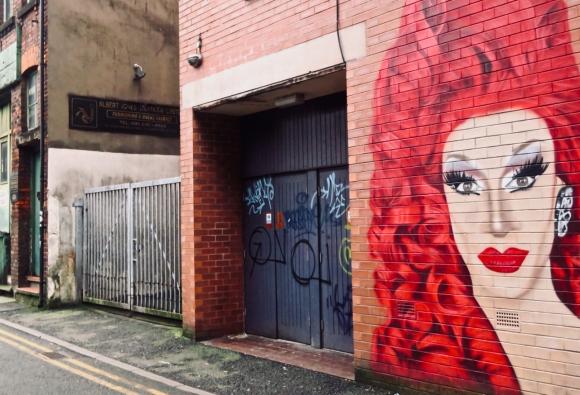 Richmond Street mural, 5/2/20
