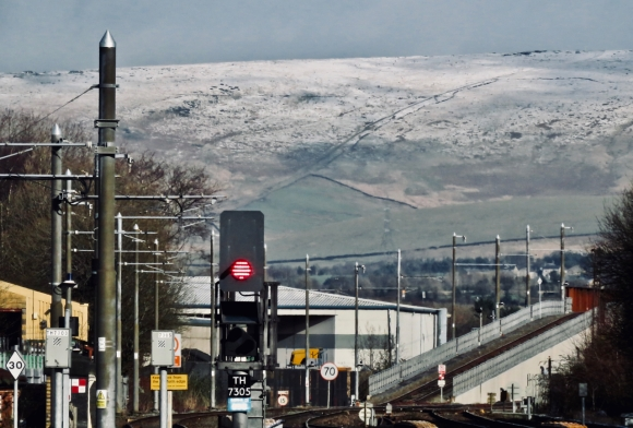 Rochdale station view, 26/2/20