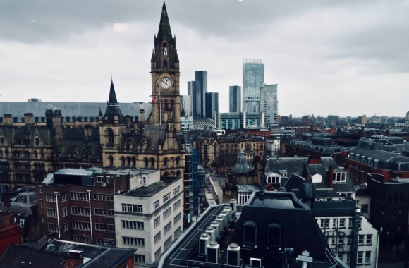 Manchester city centre, 9/3/20